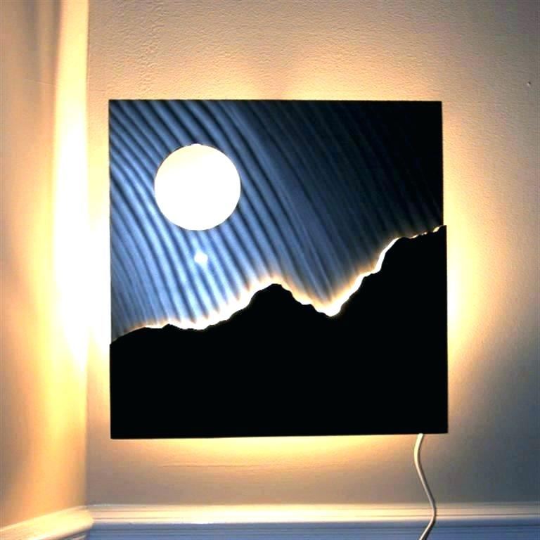 Lighted Wall Decorations Lighted Wall Decor Lighted Pictures Wall Within Lighted Wall Art (View 8 of 20)