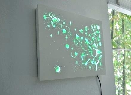 Featured Photo of Lighted Wall Art