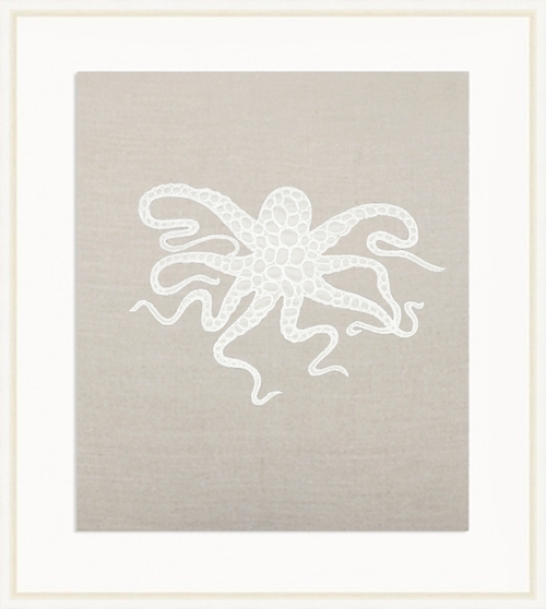 Linen Octopus Wall Art – Nest Fine Gifts And Interiors In Octopus Wall Art (View 20 of 20)