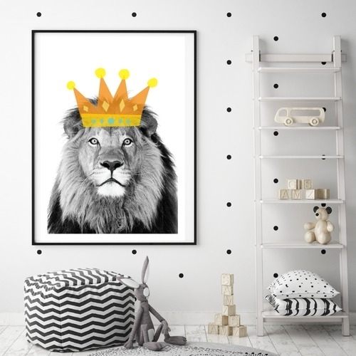 Lion King Wall Art | Temple & Webster Pertaining To Lion King Wall Art (Image 11 of 25)
