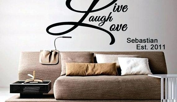 Live Laugh Love Wall Art Metal Pleasurable Ideas Live Laugh Love Inside Live Laugh Love Wall Art (View 24 of 25)