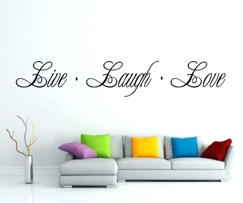 Live Laugh Love Wall Decor Live Laugh Love Wall Decor Printable Wall Intended For Live Laugh Love Wall Art (Image 16 of 25)