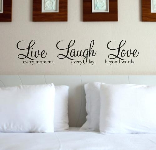 Live Laugh Love Wall Decor Live Laugh Love Words Simple Wall Art Regarding Live Laugh Love Wall Art (Image 17 of 25)
