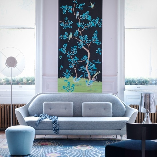 Living Room Ideas Living Room Wall Art Ideas Pattern Floral Design Within Wall Art Ideas For Living Room (View 24 of 25)