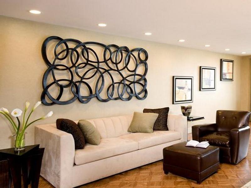 Living Room Ideas: Modern Popular Wall Decor Ideas Living Room Intended For Wall Art Ideas For Living Room (Image 18 of 25)