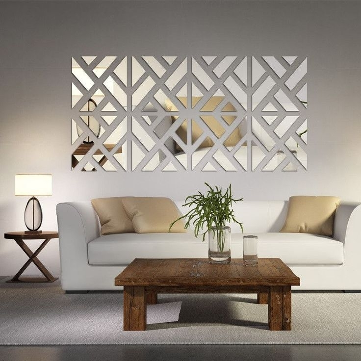Living Room Interesting Wall Decor For Living Room Wall Accents Regarding Decorative Wall Art (Image 13 of 20)