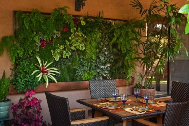 Living Walls And Vertical Gardens – Living Art With Living Wall Art (Image 16 of 25)