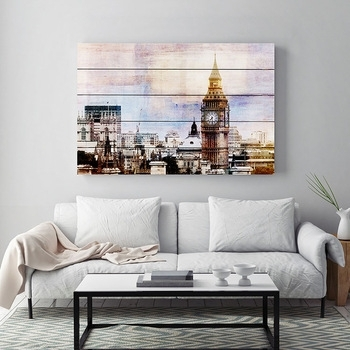 London Big Ben Picture Home Goods Wood Wall Art Decor – Buy Wall Art With Home Goods Wall Art (View 8 of 25)