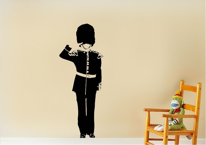 London Guard Childrens Wall Stickers Adhesive Wall Sticker For London Wall Art (View 15 of 25)