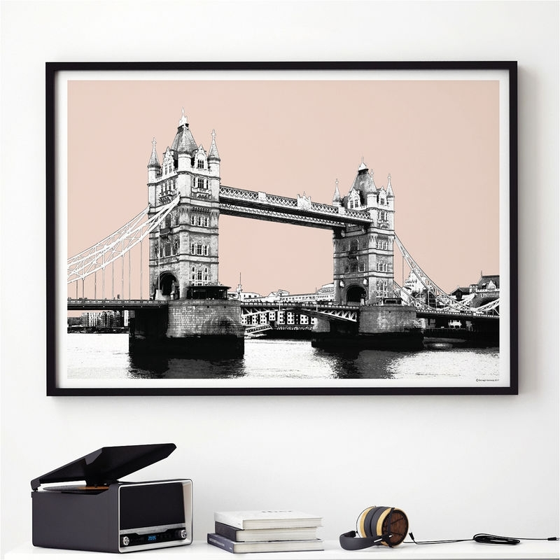London Skyline Wall Art Print – London Art Print – City Prints In London Wall Art (View 22 of 25)