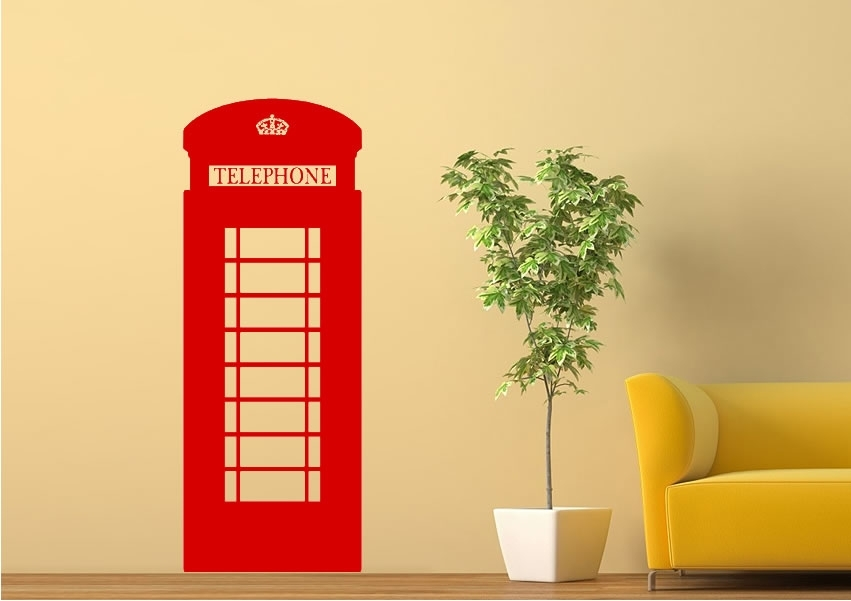 London Wall Stickers | Wallartdirect.co (View 23 of 25)
