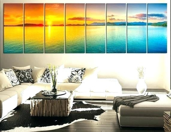 Long Wall Art Canvas Art Cheap Long Wall Popular Buy Paintings Throughout Long Canvas Wall Art (View 20 of 25)