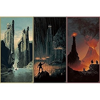 Lord Of The Rings Canvas Art Loving This Balrog Canvas Wall Art On Pertaining To Lord Of The Rings Wall Art (View 19 of 20)