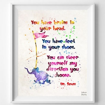 Lovable Dr Seuss Wall Art | Bargainfindsonebay With Regard To Dr Seuss Wall Art (View 13 of 20)