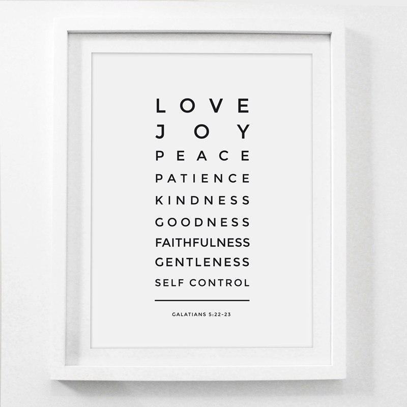 Love Is Patient Kind Prints Poster Home Living Room Bible Verse Wall In Love Is Patient Wall Art (View 22 of 25)