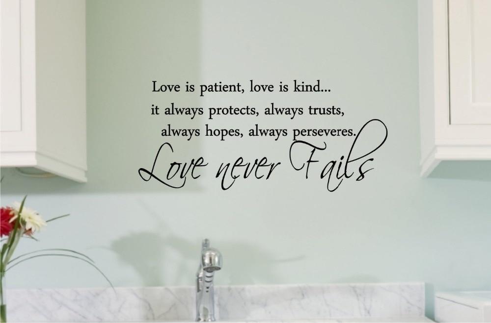 Love Is Patient Love Is Kind Wall Art – Elitflat With Love Is Patient Wall Art (View 24 of 25)