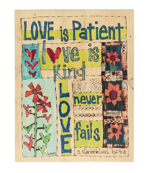 Love Is Patient Wall Art – Ava Grace Fashions For Love Is Patient Wall Art (Image 11 of 25)