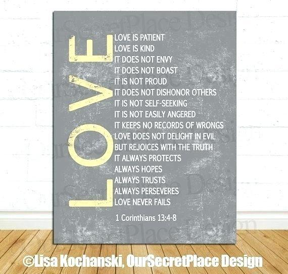 Love Is Patient Wall Art Kind Important Dates Sign Custom Wedding Regarding Love Is Patient Wall Art (Image 14 of 25)