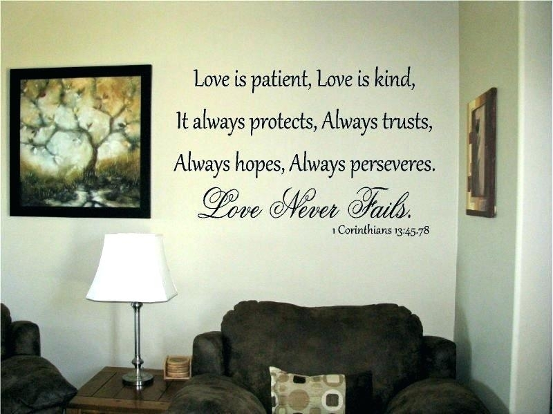 Love Is Patient Wall Art Love Is Patient Wall Art Incredible Ideas Within Love Is Patient Wall Art (View 8 of 25)