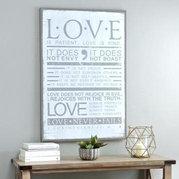 Love Is Patient Wall Art – Nicenailsbaby (Image 13 of 25)