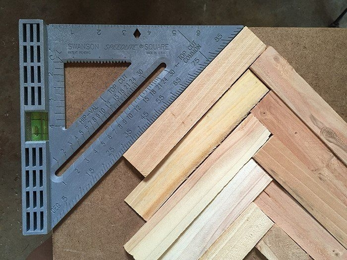 Make Cheap And Easy Wall Art With Wood Shims | Wow | Pinterest For Wood Wall Art Diy (Image 7 of 10)
