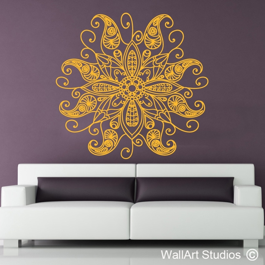 Mandala Wall Art | African Wall Art | Wall Art Studios Uk With Mandala Wall Art (Image 9 of 25)