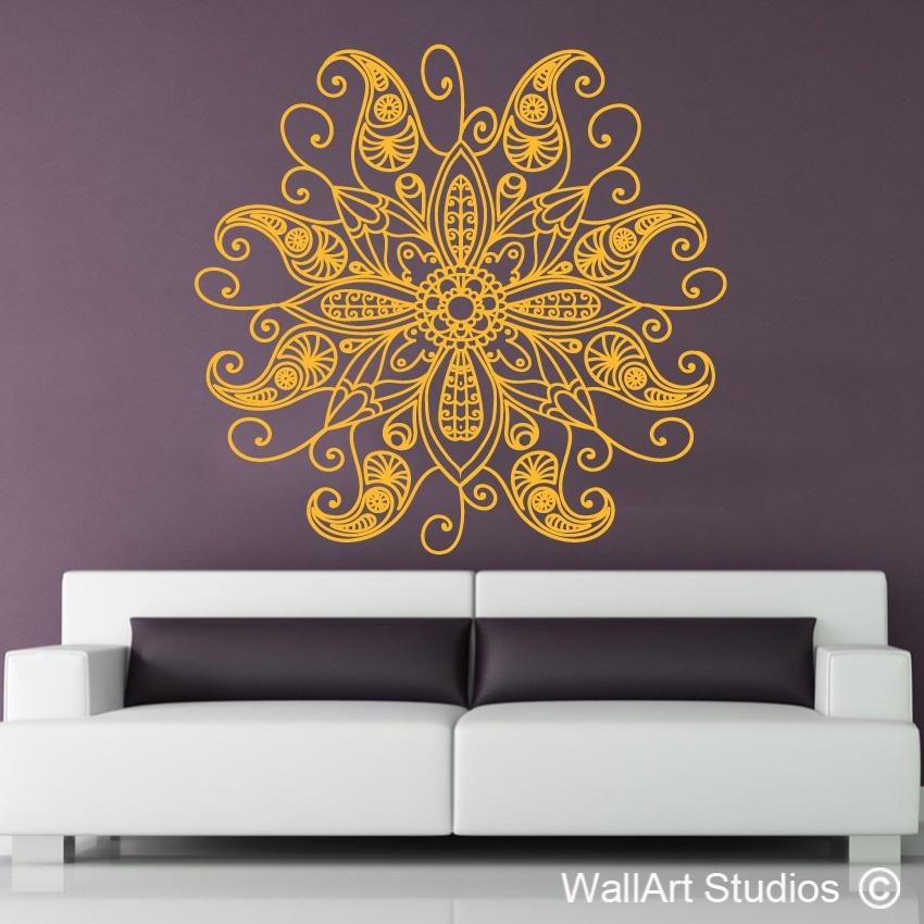 Mandala Wall Art | African Wall Art | Wall Art Studios Uk With Mandala Wall Art (Image 9 of 25)