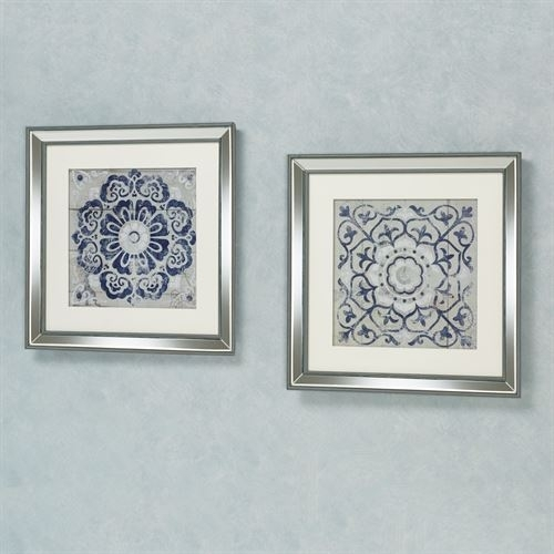 Medallion Framed Wall Art Set With Regard To Medallion Wall Art (View 3 of 25)