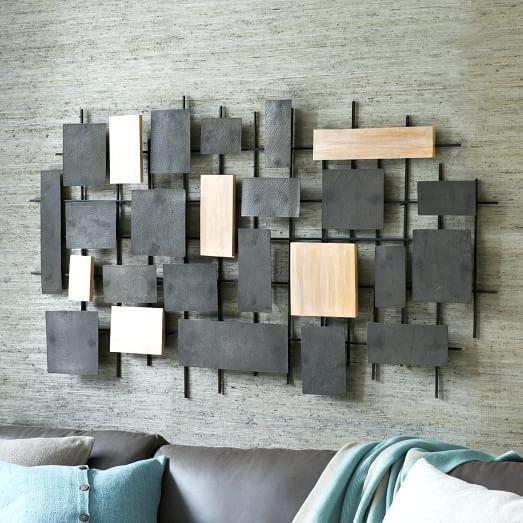 Metal And Wood Wall Art – Harmonyradio (Image 7 of 25)