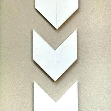 Metal Arrow Decor Arrow Wall Art Wood Arrow Wall Decor Arrow Wall For Arrow Wall Art (View 11 of 20)