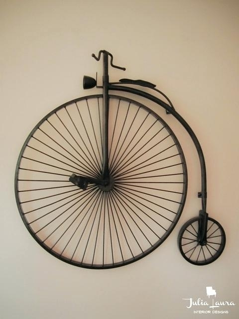 Metal Bicycle Wall Art – Toeic (Image 17 of 20)