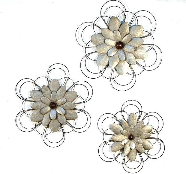Metal Flowers Metal Flower Metal Flowers Wall Art Wall Art Ideas With Metal Flowers Wall Art (Image 10 of 20)