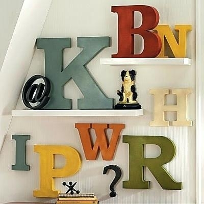 Metal Letter Decor Metal Letters For Wall Decor Luxury Wall Art With Metal Letter Wall Art (Image 17 of 25)