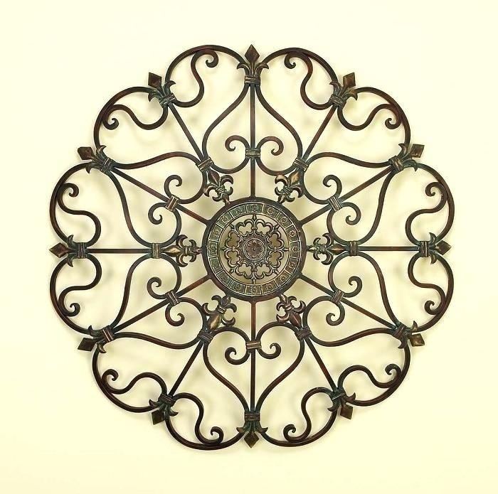 Metal Medallion Wall Art Featured Image Of Metal Medallion Wall Art Inside Medallion Wall Art (Image 15 of 25)