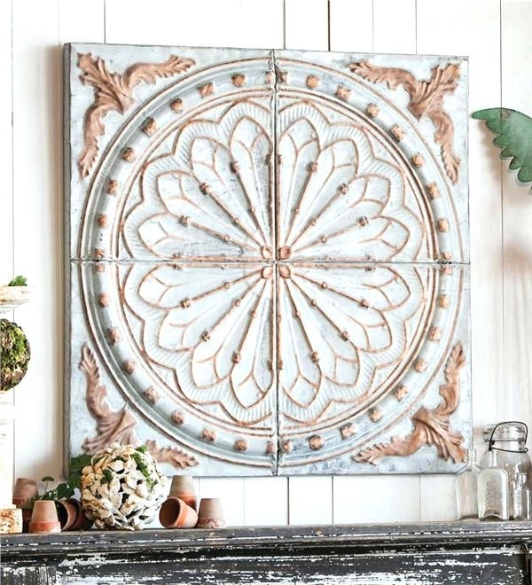 Metal Medallion Wall Decor Metal Medallion Wall Decor Lovely Beige Regarding Medallion Wall Art (View 15 of 25)