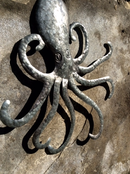 Metal Octopus Wall Art within Octopus Wall Art