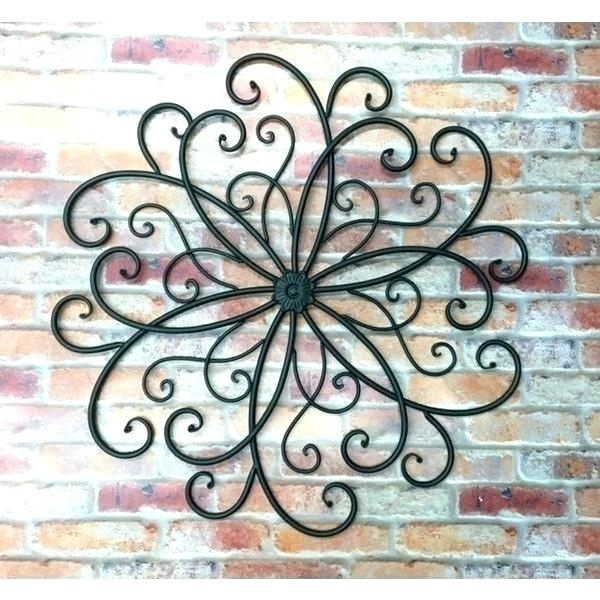 Metal Outdoor Art Wall Plate Design Outdoor Metal Wall Art Outdoor In Metal Outdoor Wall Art (Image 9 of 25)
