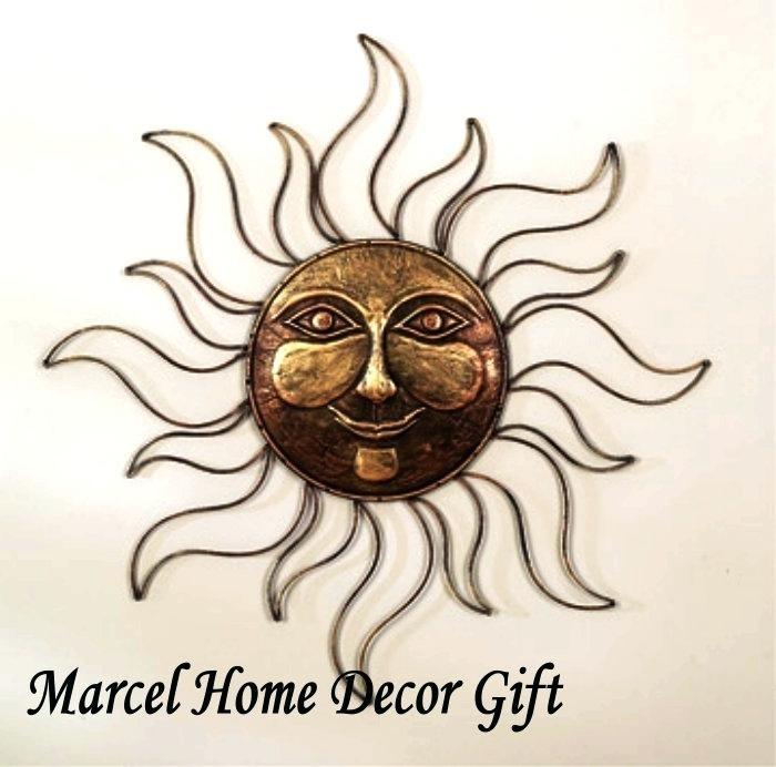 Metal Outdoor Wall Art Amazing Fascinating Sun Face Metal Outdoor Intended For Outdoor Sun Wall Art (View 10 of 10)