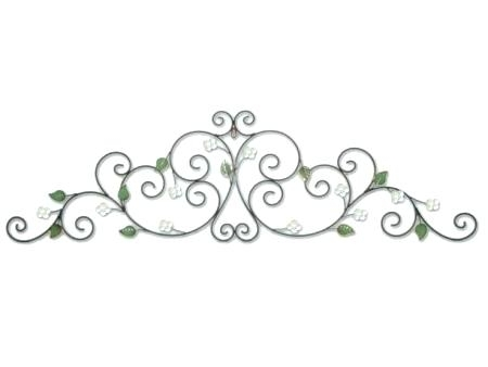 Metal Scroll Metal Scroll Wall Decor Or On Wall Arts Iron Scroll Art With Regard To Metal Scroll Wall Art (View 4 of 20)