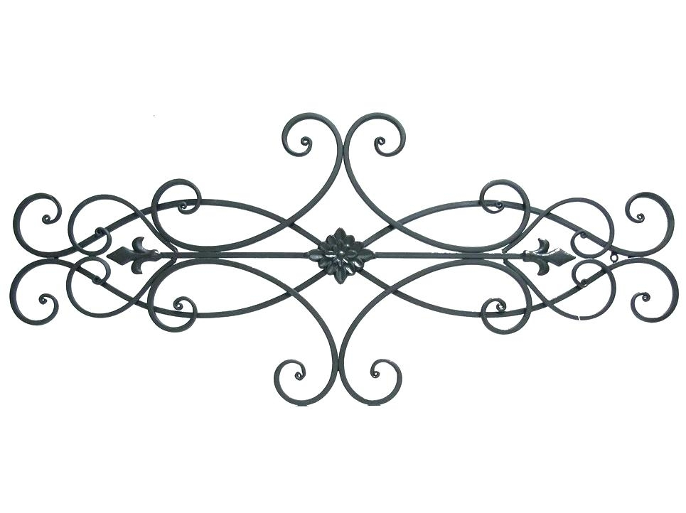 Metal Scroll Work Metal Scroll Wall Decor Wonderful Valuable Or Within Metal Scroll Wall Art (View 8 of 20)