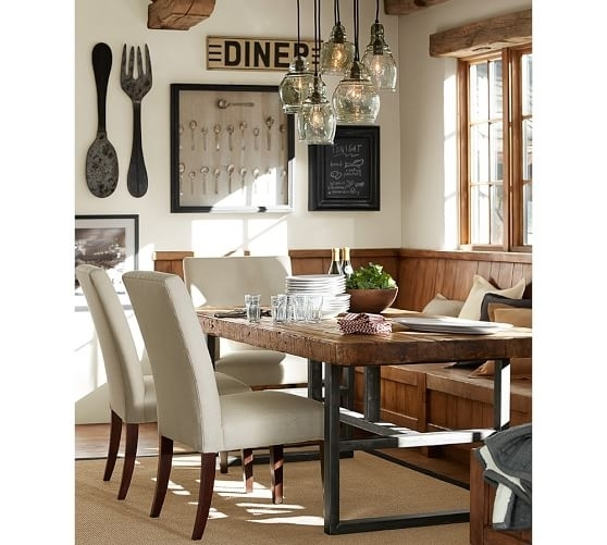 Metal Spoon Fork Wall Art Pottery Barn Oversized Fork And Spoon Wall For Pottery Barn Wall Art (Image 6 of 10)