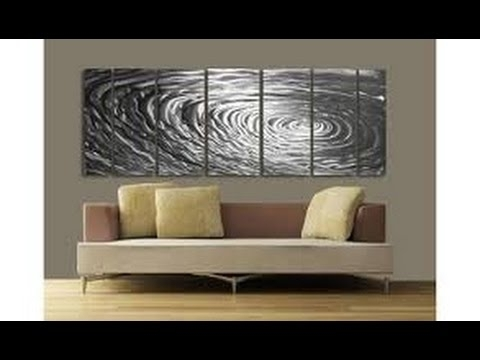Metal Wall Art Decor | Modern Metal Wall Art Decor – Youtube Regarding Modern Metal Wall Art (View 2 of 20)