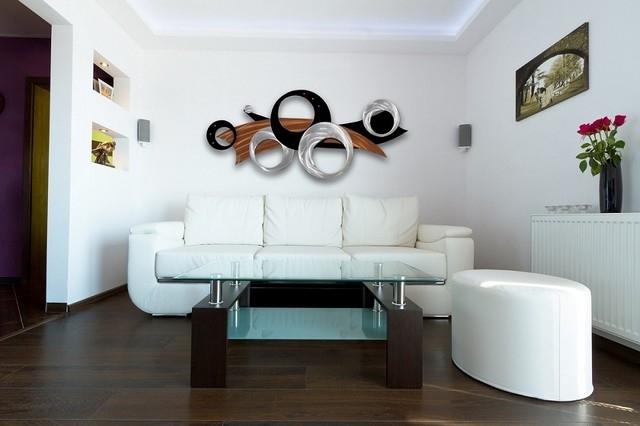 Metal Wall Art Design – Modern – Living Room – Brisbane – For Living Room Wall Art (View 4 of 10)