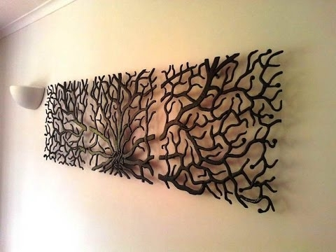 Metal Wall Art – Metal Wall Art Decorating Ideas – Youtube Intended For Wall Art Metal (Image 8 of 25)