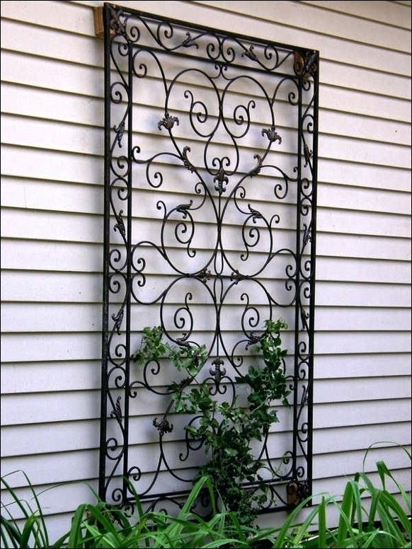 Metal Wall Art Outdoor – Dstreetnoshery Intended For Large Outdoor Metal Wall Art (View 23 of 25)