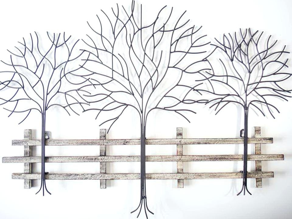 Metal Wall Art Trees Metal Tree Wall Art – Redflags (Image 13 of 25)