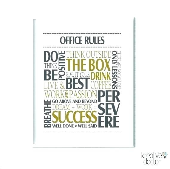 Metal Wall Sayings Metal Wall Sayings Wall Decor Sayings Office Wall With Motivational Wall Art (Image 13 of 25)