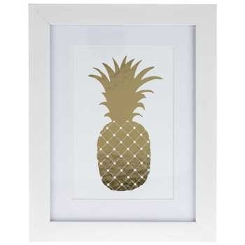 Metallic Pineapple Framed Art | Hobby Lobby | 1123033 Within Hobby Lobby Wall Art (Image 16 of 20)