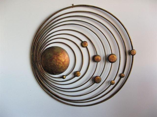 Metro Modern – Copper Metal Wall Art Throughout Wall Art Metal (View 4 of 25)