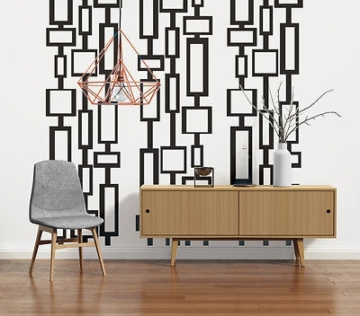 Mid Century Modern Decor, Modern Wall Decals, Mid Century Modern In Mid Century Modern Wall Art (View 2 of 20)